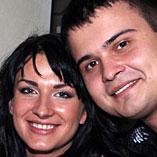 MC Olga Bilan and Max
