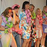 Конкурс на лучший гавайский костюм