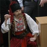 Поздравление сотрудников киевских офисов банка «Финансы икредит» с23февраля