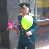 Promo-activity for Volia company, dedicated to The Victory Day