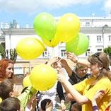 Промо-акция для компании «Воля», приуроченная коДню Европы