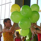 Promo-activity for Volia at the shopping malls of Simferopol'