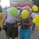 Промо-акция для компании «Воля» вторговых центрах Киева